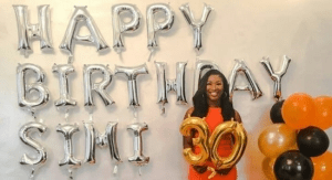 Dr Sid's Wife Simi Esiri Celebrates 30th Birthday In Style.. Checkout Eyecandy Photos